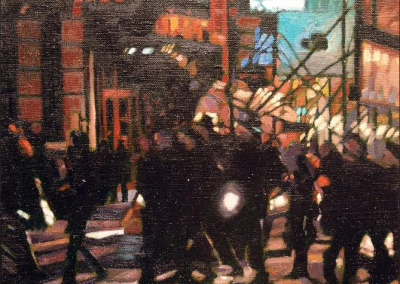 Times Square   14x16
