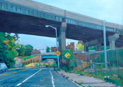 Capital Ave Yellow   14x18