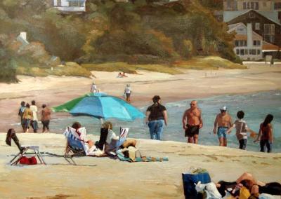 Beach Stroll   30x36