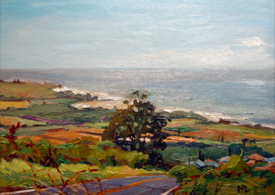 Canyon River Drive, View Looking East   11x14